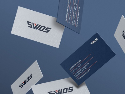 SWOS Identity stationery paper system graphic design icon branding identity design logo design logo