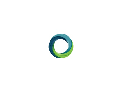 Fusion logo design treatment type letters logo