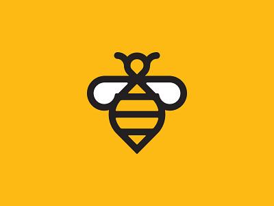Bee Educated icon bee logo-design logo