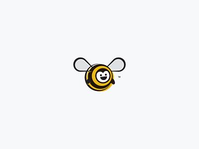 Happy Bee brand identity design logo design