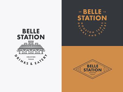 Belle Station Logo System