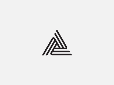 Cross Paths symbol badge typography logo design logosystem