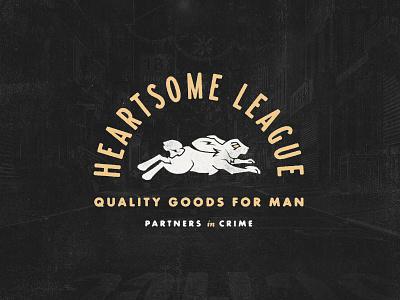 Heartsome League logonew typography graphics logo design branding symbol logo vector graphic design badge design