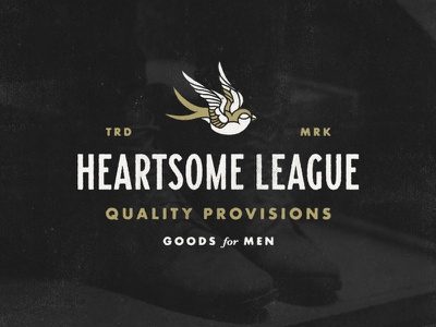Heartsome League 02 logonew typography graphics logo design branding symbol logo vector graphic design badge design