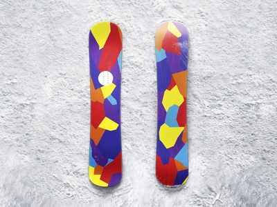 Snowboard Mockup