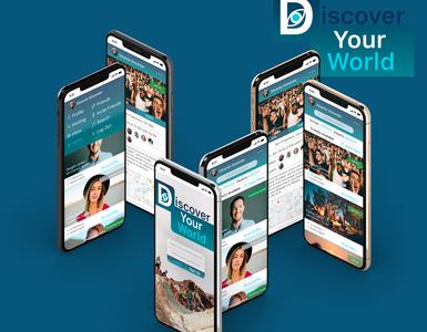 Discover app design