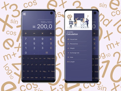 Calculation App for Android