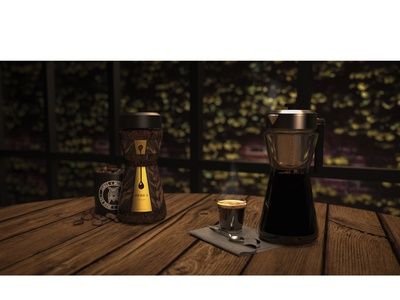 Iberica coffee jar