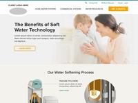 Water systems marketing site.