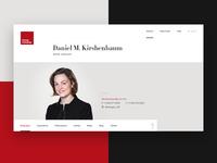 Attorney's bio page