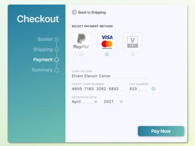 002 Creditcard Checkout