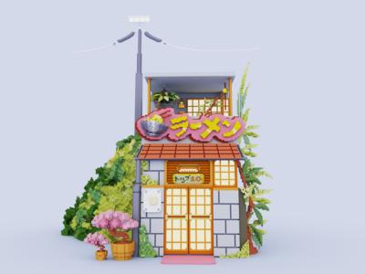 Ramen Shop Front