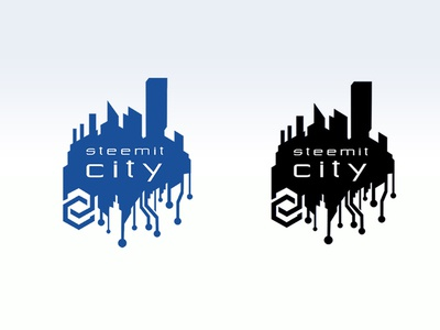 Sci-fi inspired Logo for a Blockchain Based Community