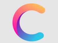 "Logo Design ""C"" for Civnopes letter colourful gradient logo"