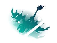 Elder Dragon gradient design leagueoflegends league of legends