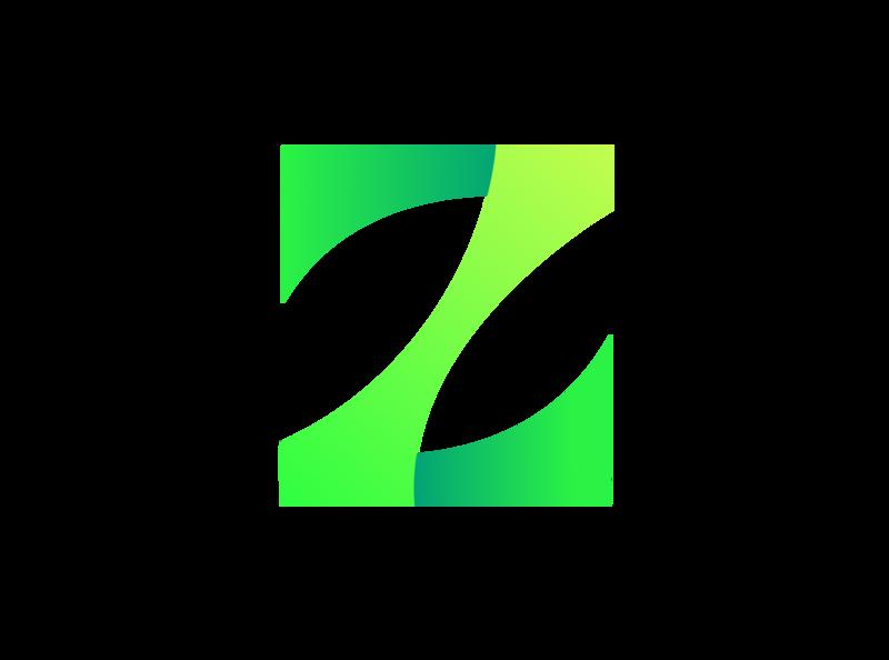 """Logo """"Z"""" colour z colorfull letter logo"""