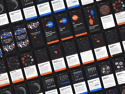 Why We Run interactive interaction design dataviz design