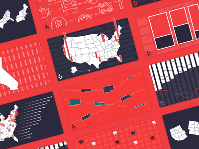 Featured illustration dataviz design