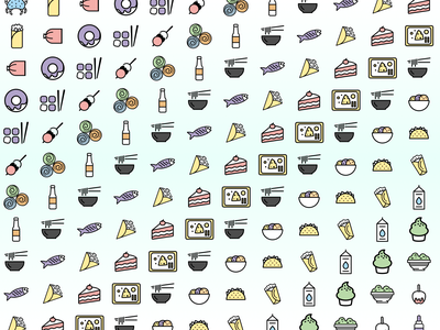 Food Trends data design dataviz icon designs icons icon design illustration