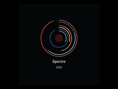 Bond: Spectre chart radial james bond data design dataviz design