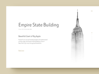 Empire State Building - Typography Exercise