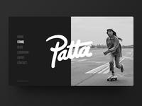 Patta Website Menu
