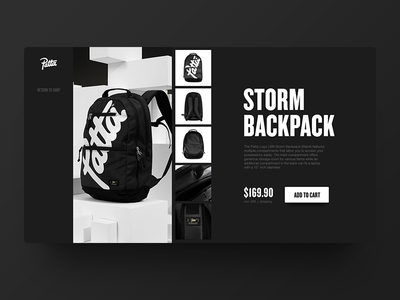 Patta Product Page