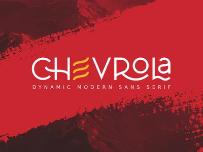 CHEVROLA Free Font