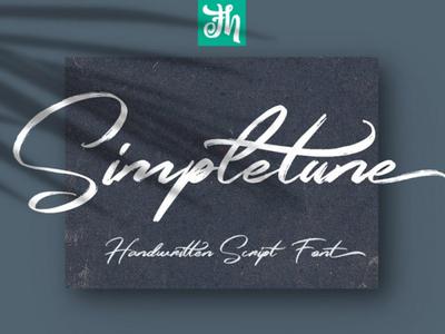 Simpletune - Free Handwritten Font