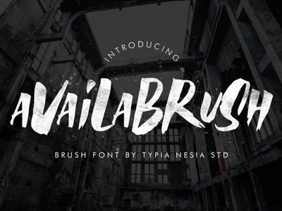 Availa - Free Brush Font