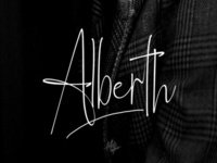 Alberth Free Signature Font