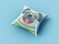 Free Cushion Mockup