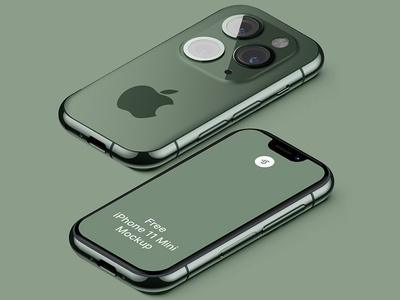 Free iPhone 11 Mini Mockup