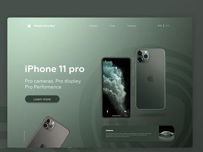 Free iPhone 11 Pro Web Mockup