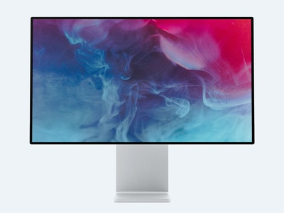 Free Apple Display XDR MockUp