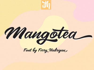 Mangotea Free Script Font