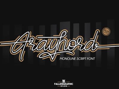 Frayhord - Free Signature Font