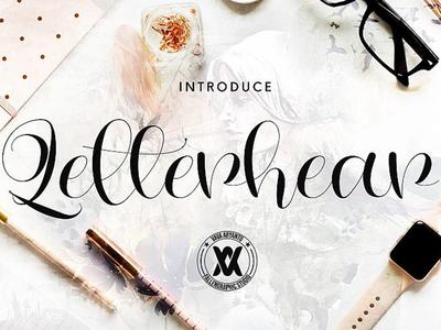 Letterhear Free Font