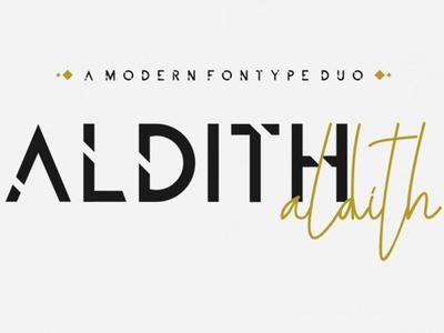 ALDITH Free FOnt