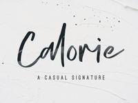 Calorie Free Script Font