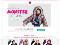 Monster Coats Home Page