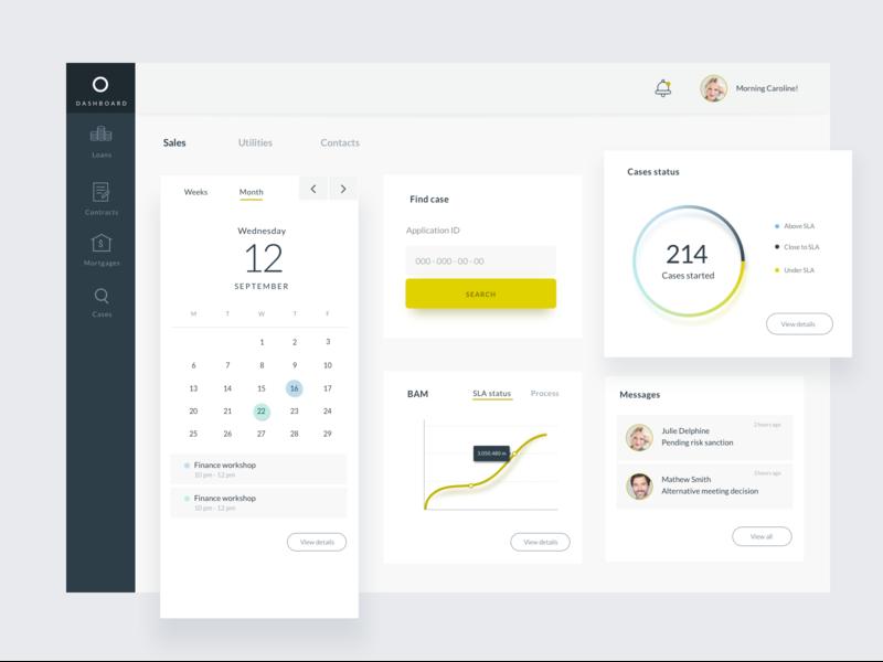 Finance dashboard data webapp dashboad finance
