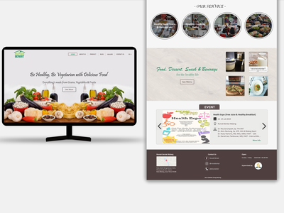 Rumah Berkat Malang Website website design ui design web design ui