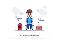 No organizations