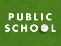 Public School Loves Baseball Season