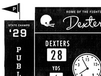 Fighting Dexters Football!