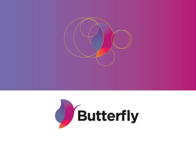 Gradient Butterfly