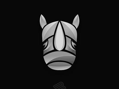 Rhino logo design rhino3d logodesign logotype rhino logo rhinoceros rhino typography animation illustrator design lettering vector minimal illustration branding logo