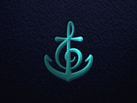 Anchor + Treble Clef