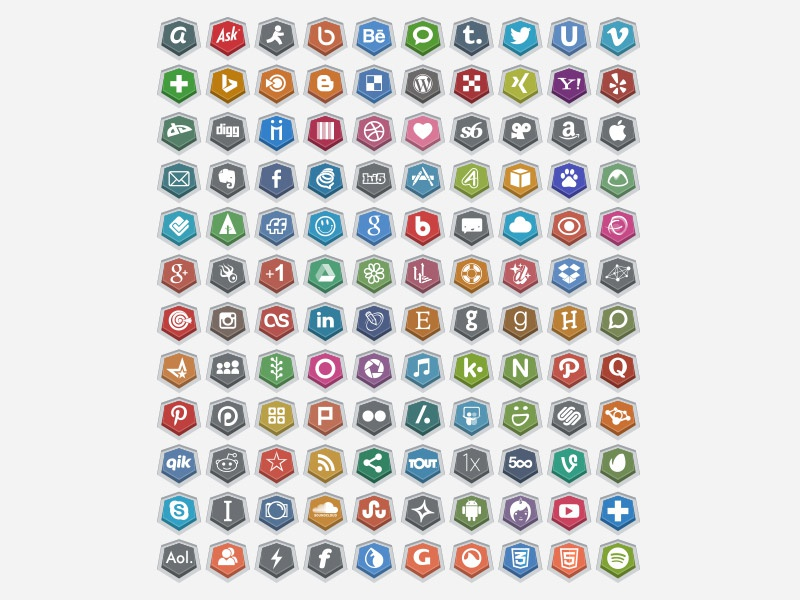 120 Embossed Free Social Media Icons social icons free social icons social icons 2015 social icons 2014